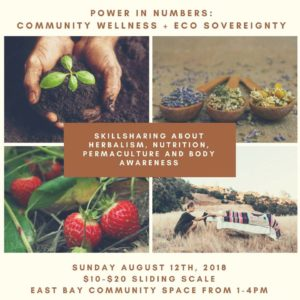 Power in Numbers: Community Wellness&Eco Sovereignty